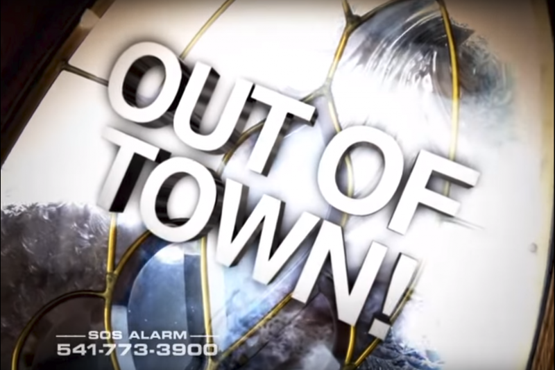 SOS Alarm - Out Of Town